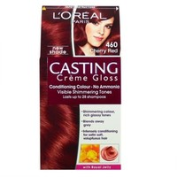 L'Oreal Casting Creme Gloss Hair Colour Cherry Red 460