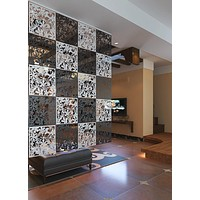 Hanging Divider Screen Decorative Wood Partitions