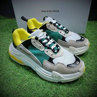 Balenciaga street fashion men and women retro casual wild old shoes sneakers