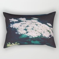 Anne's Lace Rectangular Pillow by Ducky B