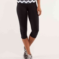 run: for your life crop   women's crops   lululemon athletica