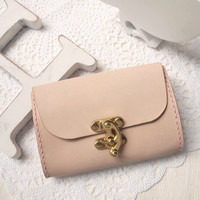 Personalized Leather Wallet / Purse