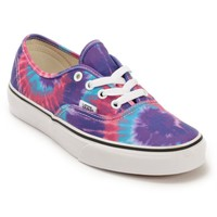 Vans Authentic Purple Tie Dye