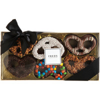 Decorated Chocolate-Covered Pretzels