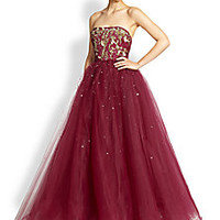Notte by Marchesa - Embroidered Ball Gown - Saks Fifth Avenue Mobile