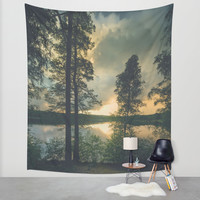 Peekaboo VI Wall Tapestry by HappyMelvin | Society6