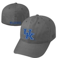 Licensed Kentucky Wildcats Official NCAA One Fit Crew Hat Cap by Top of the World 650528 KO_19_1