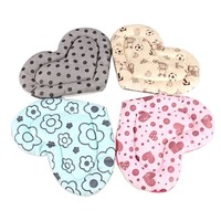 Heart Shape Scratch Resistant Small Animal Hamster Mat Pet Rabbit Pad Guinea Pig Hamster Squirrel House Cage Nest Cushion