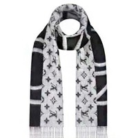 LV Louis Vuitton Classic Hot Sale Women Men Tassel Cashmere Cape Scarf Scarves Shawl Accessories