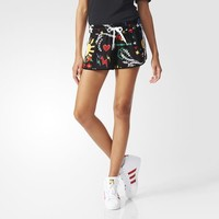 adidas Pharrell Williams Artist Running Shorts - Black | adidas US