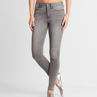 Seriously Stretchy Grey High-Waisted Jegging - Aeropostale