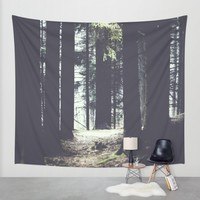 She will guide you Wall Tapestry by HappyMelvin   Society6