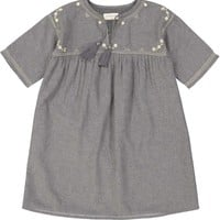 Louis Louise Girls' Moly Grey Dress