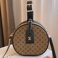 LV Louis Vuitton Canvas Tote Bag Shoulder Bag