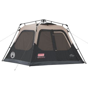 2-4 Person Best Camping Hiking Fishing Outdoor Waterproof Family Instant Cabin Tent w Floor