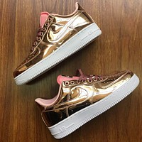 Nike Air Force One fashion low-top casual sneaker lady
