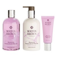 MOLTON BROWN London 'Blossoming Honeysuckle & White Tea' Body Indulgences Set (Limited Edition) ($87 Value)