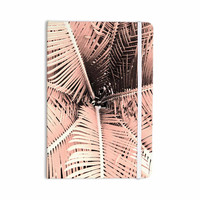 """Suzanne Carter """"Palm-Peach"""" Pink Black Everything Notebook"""