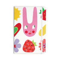 """Jane Smith """"Summer Repeat"""" White Red Everything Notebook"""