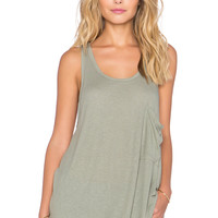 Free People Hot Rocket Tank in Sage