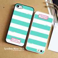 Blue Stripes-Lilly Pulitzer iPhone Case Cover for iPhone 6 6 Plus 5s 5 5c 4s 4 Case