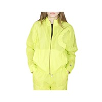 Champion Women's Oversized C Logo Track Jacket Volt