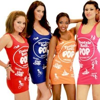 Tootsie Roll Pop Candy Tunic Tank Dresses