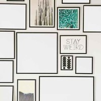 Black Wood Art Print Frame