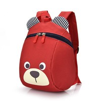 Toddler Backpack class bag girls boys kids Backpacks baby aged safety canvas harness toddler cartoon bear backpack anti lost children strap Toys Plush AT_50_3