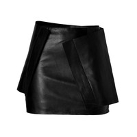 J.W. Anderson - Leather Brick Skirt