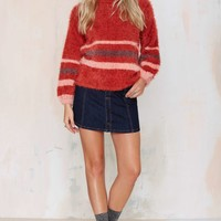 Knitz by For Love & Lemons Fleetwood Oversized Sweater