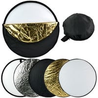 "24"" 60cm 5 in 1 Photography Studio Multi Photo Collapsible Light Reflector  D_L = 1712515972"