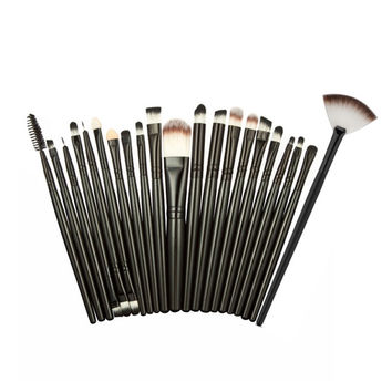 MAANGE 2 Makeup Brushes Professional Make-up Toiletry Kit Wool Make Up Brush Set S1 SM6