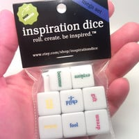 Inspiration Dice Mega Set (Unique gift for writers, artists, and RPG gamers. Perfect for NaNoWriMo and Christmas presents)