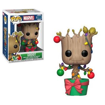 Groot with Lights and Ornaments Funko Pop! Marvel Holiday
