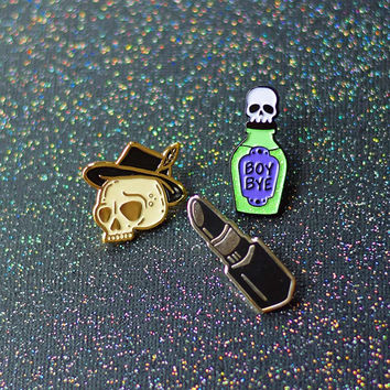 Witchy Enamel Pin Bundle
