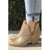 Walk On Water Booties- Taupe