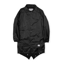 Darkest Coaches Trench Jacket - Black