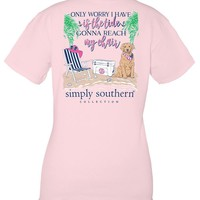 SIMPLY SOUTHERN PREPPY TIDE SHIRT YOUTH