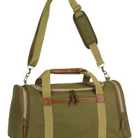 Executive Duffle Bag Travel Gym Bag, Olive Green by BAGS FOR LESS