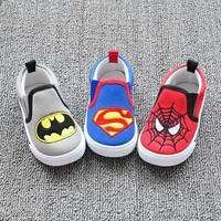 Batman Dark Knight gift Christmas 2017 New Canvas Kids Shoes boys Super Man, Cotton Boys Shoes Batman,Children Shoes Spider Man,Kids Sneakers,Shoes Kids,Boy Shoes AT_71_6
