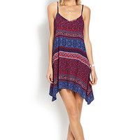 Boho Tribal Print Dress