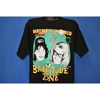 90s Wayne's World Babeitude Zone t-shirt Large