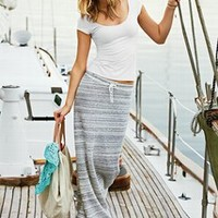 French Terry Maxi Skirt - Victoria's Secret