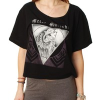 Metal Mulisha Women's Loose Fit Dani G Divine Crop Top