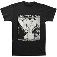 Trophy Eyes Men's  Destroy Myself T-shirt Black Rockabilia