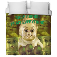 Baby Grinch Bed