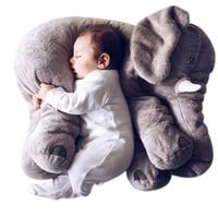 30CM/ 40CM /60CM 1 PCS Elephant Plush Toys Placate Doll Stuffed Plush Pillow Home Decor for Children Gifts [9303700106]