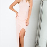 Up Top Dress in Pale Pink