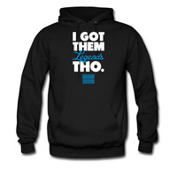 I Got Them Legends Tho Retro Jordan 11 Blue Shirt hoodie sweatshirt tshirt